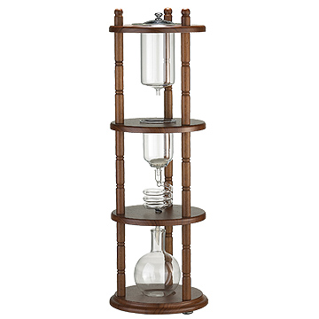 #10 Water Drip Coffee Maker-Round Base/pulldown (HG2714)