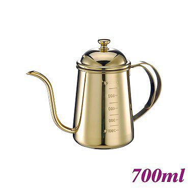 #1405 0.7L Pour Over Coffee Pot - Titanium Golden (HA1655GD)