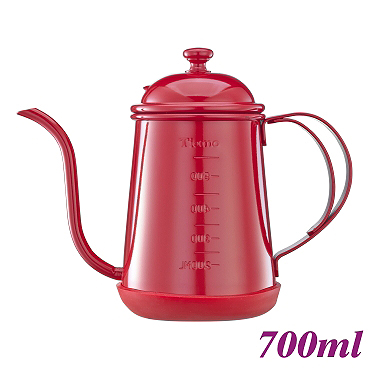 #1405 0.7L Pour Over Coffee Pot - Red (HA1655RD)