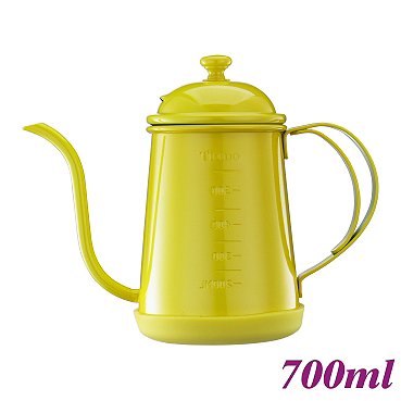 #1405 0.7L Pour Over Coffee Pot - Yellow (HA1655YL)