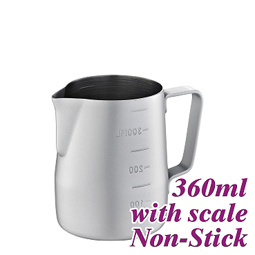 #1311 360cc Non-Stick  Milk Pitcher w/ scale (HC7086GR)