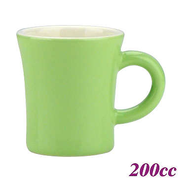 200cc Coffee Mug - Yellow Green Color (HG0724YG)