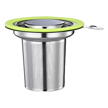 1307 S.S. Tea Strainer - Green (HG1751G)