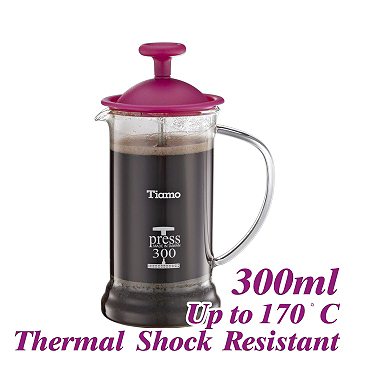 300ml French Press - Pink (HG2109PK)