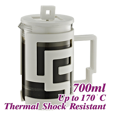 700ml French Press - White (HG2115W)