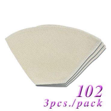 102 Cloth Sock Coffee Filter -3pcs. pack (HG2518)