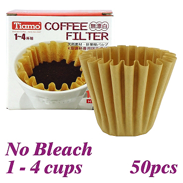 K02 No Bleach Coffee Filter Paper - 50pcs./box (HG3254)