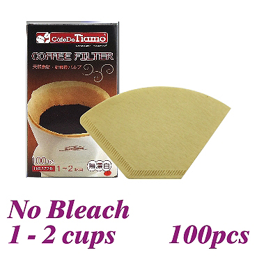 101 No Bleach Coffee Filter Paper - 100 pcs./box (HG3728)