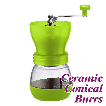 0925 Coffee Grinder-Green (HG3935)
