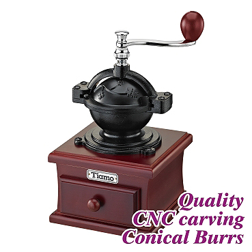 #1309 Coffee Grinder - Cast Iron/Fuschia Color (HG6081PH)