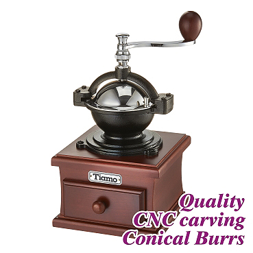 #1309 Coffee Grinder - Chromed/Fuschia Color (HG6148PH)